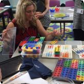 Numicon Maths delivered to GLC staff...