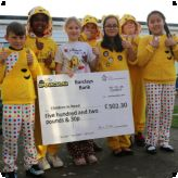 Lansdowne have a 'Spotacular' day for Children in Need...