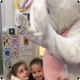 Easter bunny surprise for Lansdowne pupils...